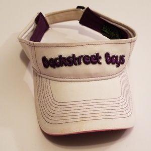 Backstreet Boys Vintage Visor Sparkly Strapback